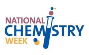 National Chemistry Week logo with beaker