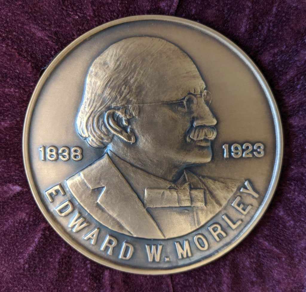 Call for Nominations 2021 Edward W. Morley Award